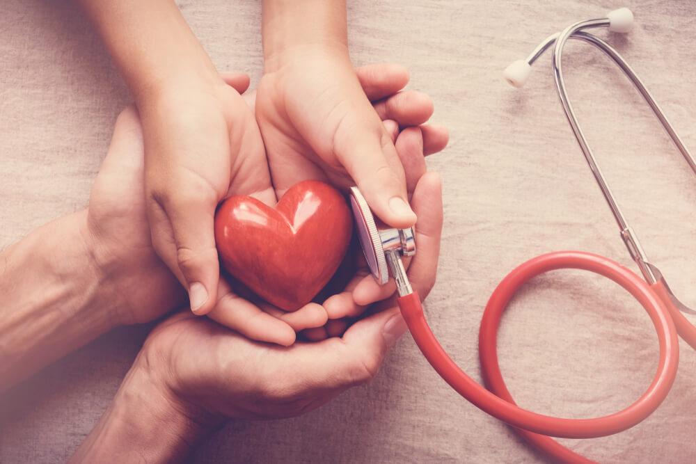 heart and high blood pressure health